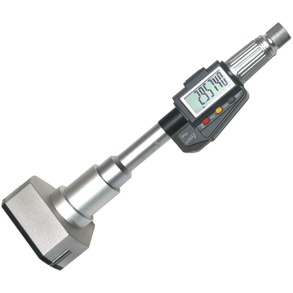 iGaging Inside Hole Micrometer 0.65-0.80 16-20mm Inch//Metric Digital Electronic 3-Point Bore Gauge Resolution 0.00005
