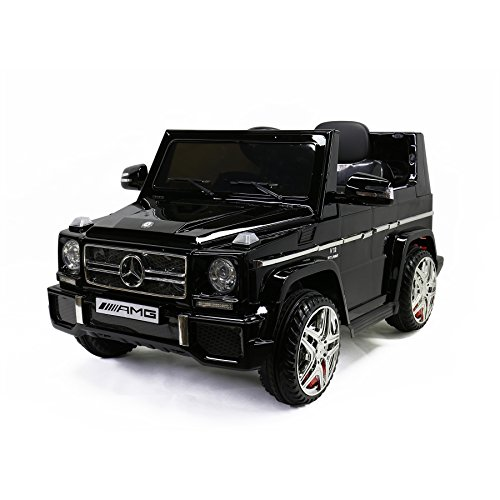 MARTIN RANGER Licensed G65 Mercedes-Benz, Kids Ride on Powered Car 12V & Remote Controller, Black