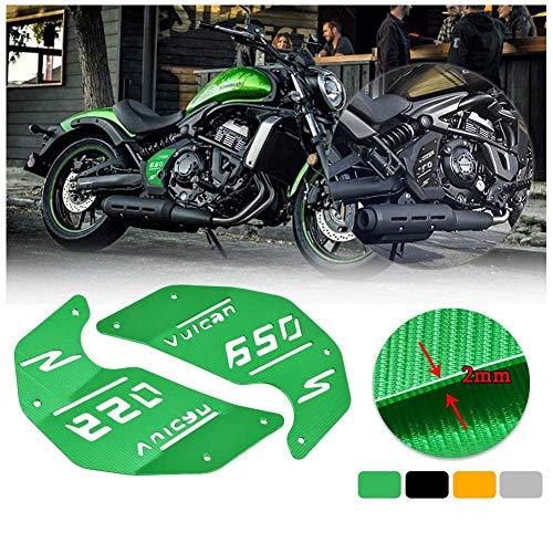 Nombre ASDZ Estrenar Accesorios Accesorios pr/áctico Moto de la Motocicleta for Kawasaki VN650 Vulcan S Cap 650 EN650 2015 2016 2017 2018 Fluid Cubierta Delantera Cilindro dep/ósito del Freno Titanio