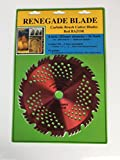 Renegade Blade 1 Blade 8'-56t Razor/Hybrid - Combo Specialty - GS1 Barcode Shelf Hanging Blister Pack - Carbide Brush Cutter Weed Eater Blades, 203mm Diameter