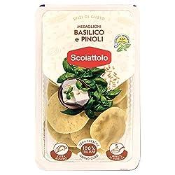 Lo Scoiattolo Medaglioni Basilico e Pinoli, 200g