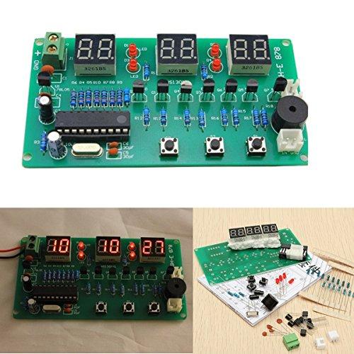 BliliDIY 5V-12V At89C2051 Multifunktions Sechs Digitale Led DIY Elektronische Uhr Kit