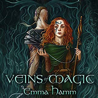 Veins of Magic audiobook cover art