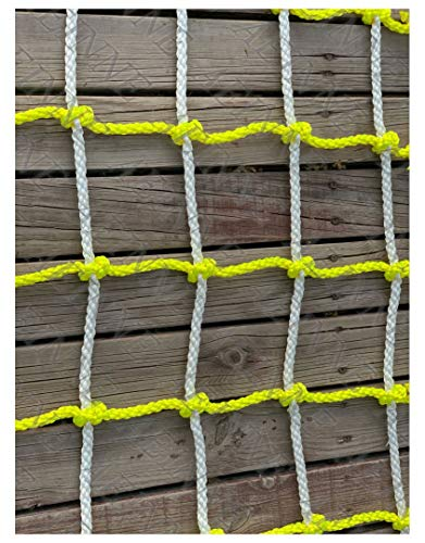 Lowest Prices! Tree Climbing Rope,Climbing Rope Net Climb Netting Gym Rock Outdoor Wall Frame Struct...