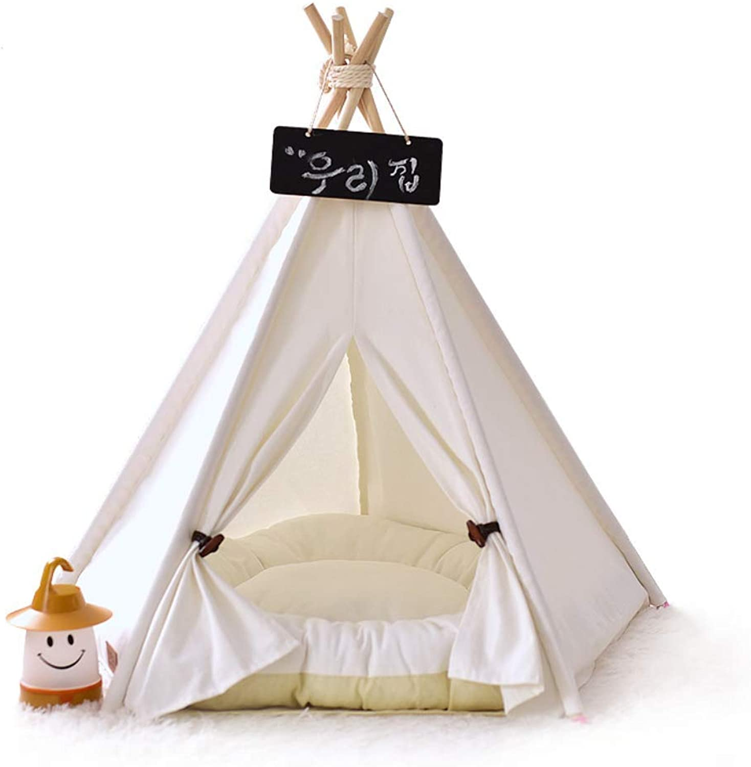 Pet Tent Removable And Washable Pet Play House Dog Play Tent Cat dog Bed (with Cushions, A Variety Of Styles)