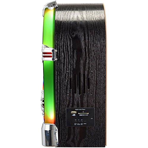 La Chaise Longue 31-ZC2-012 Jukebox lumineux New-York Bluetooth Radio CD mp3 USB SD Aux H38 x 17 x 27 cm