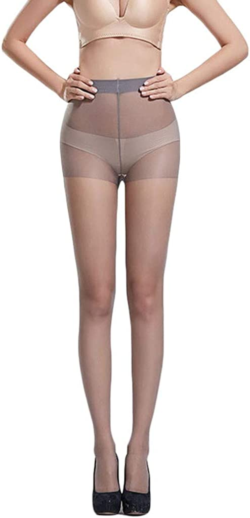 Women Sexy Solid Color Tights Stockings High Waist Socks Pantyhose for Dancing Party,One Size