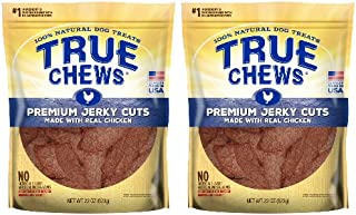 True Chews Premium Jerky Cuts made with Real Chicken 22 ounce (2 pack)