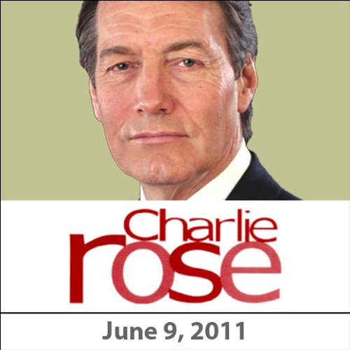 Charlie Rose: David McCullough, June 9, 2011 audiobook cover art