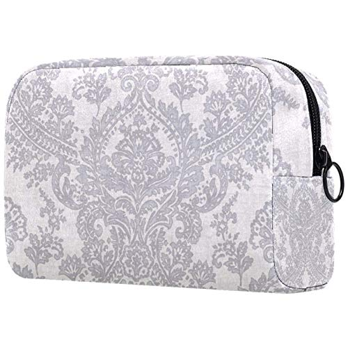 ATOMO Bolsa de maquillaje de moda, bolsa de viaje grande, neceser organizador...
