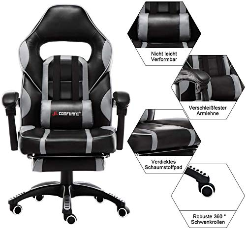 JL Comfurni Gaming Stuhl Bürostuhl Bild 2*