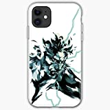 Metal Solid Snake Mgs2 Gear MGS 2 | Unique Design Phone Case Cover for iPhone 12 & iPhone 11 and Many Else | TPU Shockproof Interior Protective - Customize