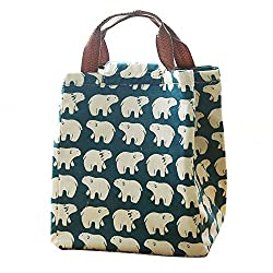 Mziart Reusable Cotton Lunch Bag