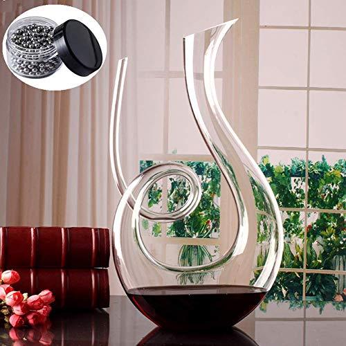 ZXL Crystal spiraal type, snel van rode wijn Italiaanse stijl met de hand geblazen lood, transparant glas