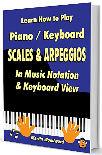 Learn How to Play Piano / Keyboard Scales & Arpeggios: In Music Notation & Keyboard View (Music Theory Book 3) (English Edition)