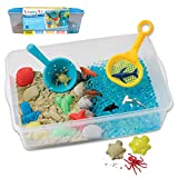 Creativity for Kids Sensory Bin: Ocean and Sand - Fine Motor and Sensory Toys for Kids