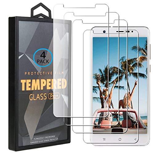 Ycloud 4 Pack Screen Protector Für Blackview R6 Lite, HD Transparent [9H Härte, Anti-Kratzen, Anti-Öl, Anti-Bläschen] Panzerglasfolie Für Blackview R6
