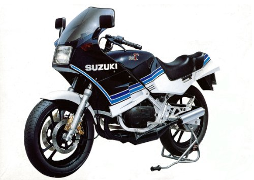 1/12 Naked Bike No.73 Suzuki RG250 (japan import)