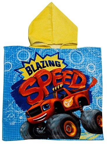 Poncho de baño con capucha oficial Blaze and The Monster Machines