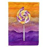 Carolines Treasures BB7466GF Halloween-Saugnapf, Lollipop, Gartengröße, Outdoor-Flaggen, Mehrfarbig
