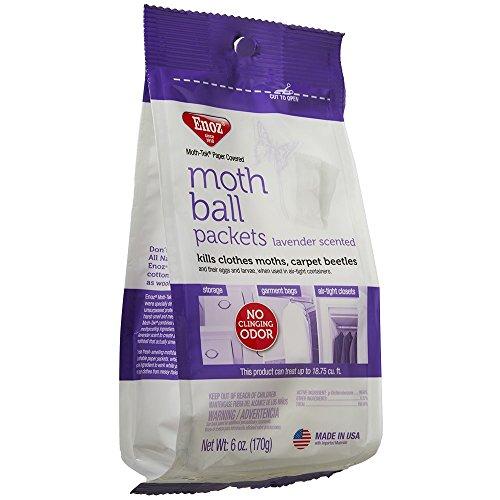 Enoz Moth-Tek Packets Lavender Scent - 6 oz. Bag 1 ea. Kills Clothes