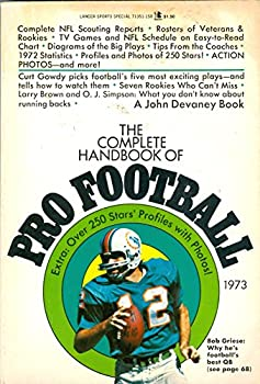 Paperback COMPLETE HANDBOOK OF PRO FOOTBALL / 1973 EDITION Book