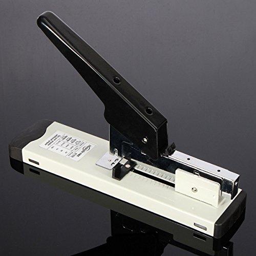 MASUNN Heavy Duty Metal nietmachine boekbinden nieten 120 vel capaciteit voor kantoor thuis