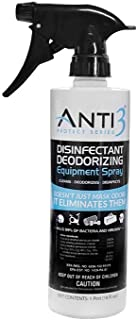 Anti3 Protect Series Disinfectant Equipment Deodorizing Spray, 16 oz