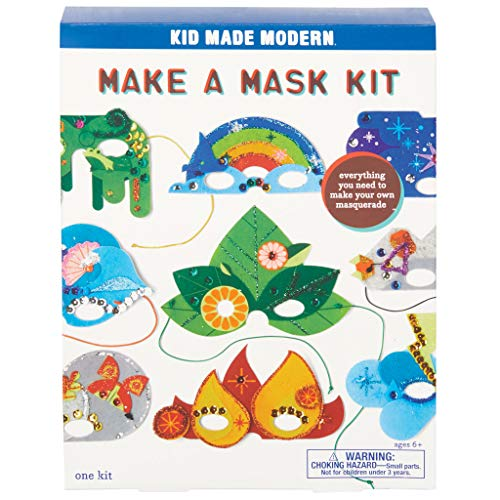 Kid Made Modern Make a Mask Kit for Kids - Arts and Crafts DIY Masks Projects