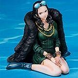 Figura De Anime De Una Pieza De 8 Cm, Figura De Miss Allsunday, Figura De Nicole Robin En Azul Y Vestido Elegante, Figura De Acción, Modelo Coleccionable, Juguetes De Muñeca
