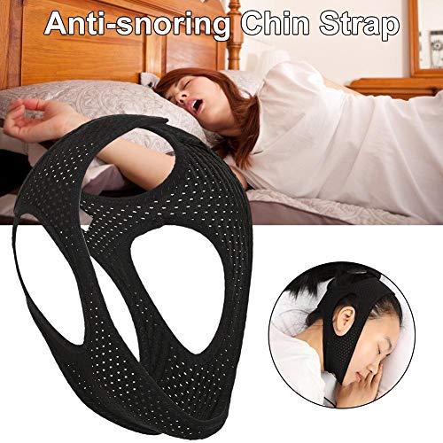 Heoolstranger Anti Schnarchen Kinnriemen - Verstellbar Und Komfortabel - Besserer Atem Und Schlaf - Stop Schnarchhilfe Für Männer Frauen