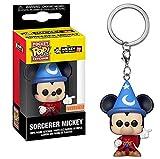 Funko - Porte Clé Disney - Mickey Sorcerer Exclu Pocket Pop 4cm - 0889698353854