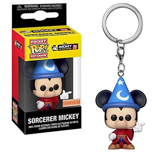 Pocket POP! Keychain: Disney: Mickey mago Exclusivo