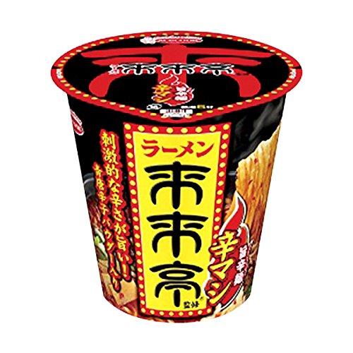 【販路限定品】エースコック 来来亭 旨辛麺 辛マシ 97g×12個