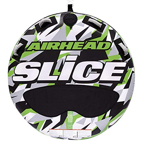 Airhead New OEM Inflatable 2-Person Green Super Slice Deck Tube