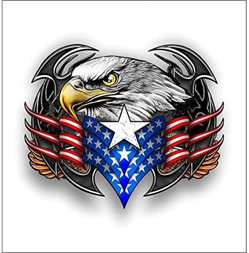 미국 부족 독수리 스티커 | 데칼