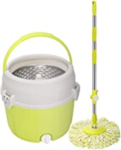 Mop,Spin MopStainless Steel Rotating Bucket Set Microfiber Mop Pads Household Cleaning Tools