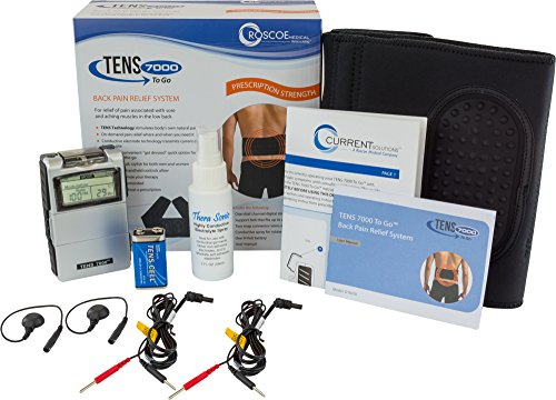 TENS 7000 to Go 2nd Edition Back Pain Relief System