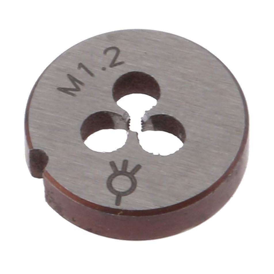 文明化するこどもの日指定するKESOTO 交換性 メトリックタップダイス スレッドツール 高品質  高硬度 全12サイズ - M1.2