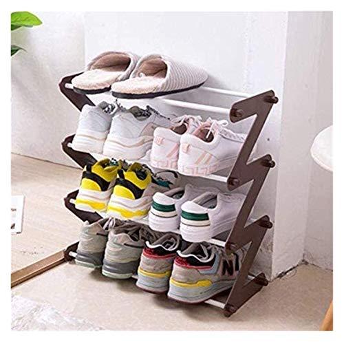 Ahorra Espacio Bastidores de Zapatos Puerta almacenados en Las Puertas del Estante del Zapato Corredor de Ahorro de Espacio conocidos hogar montado en la Pared Armario de Zapatos B348x46cm
