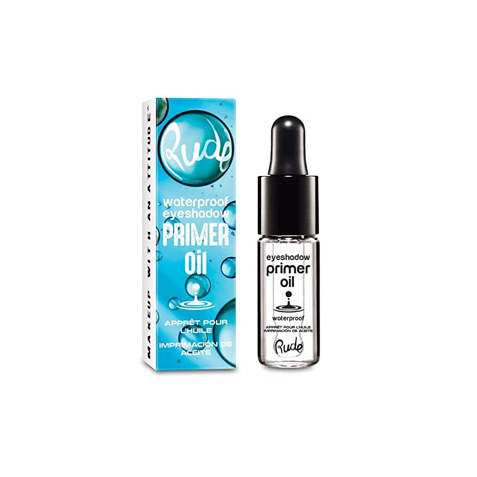 キリスト教フロントちょっと待って(3 Pack) RUDE Waterproof Eyeshadow Primer Oil (並行輸入品)