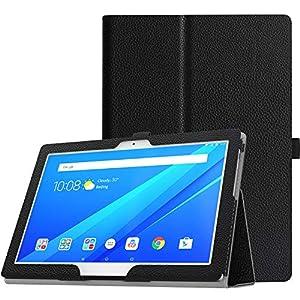 TiMOVO Lenovo Tab 4 / Tab 4 Plus 10 Funda - PU Cuero Ultra Delgada Función de Soporte Plegable Cubierta para Lenovo Tab 4 / Tab 4 Plus 10.1