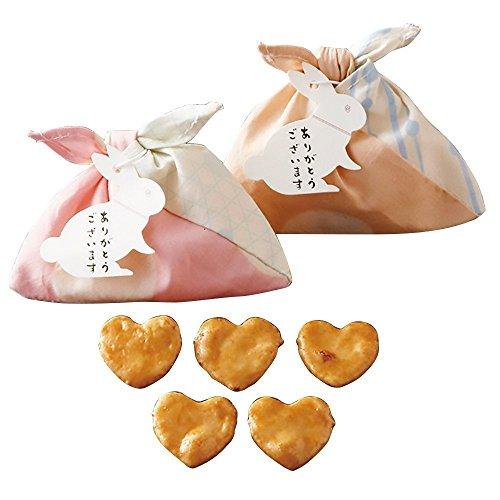 あづま袋(ハートせんべい) 15個セット