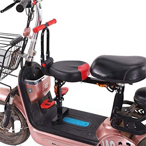 SDC Faltbare Fahrradkindersitzsattelkissen Frontmontage Schnellspanner Kinder Sicherheit Vordersitz 703 (Color : Red)