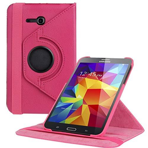 Samsung Galaxy Tab 3 Lite 7 inch Tablet hoesje 360 Draaibaar - Pink/Roze
