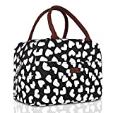 RONAVO Lunch Bags Tote Bag Lunch Bag for Women Lunch Box Insulated Lunch Container - Tough & Spacious Adult Lunchbox …