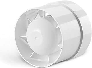 SAILFLO 4 inch Inline Duct Booster Fan 110V 12W 76CFM Energy Saving Efficient Exhaust Vent Blower for Home grow tent Shop mall office basement attic etc.(4