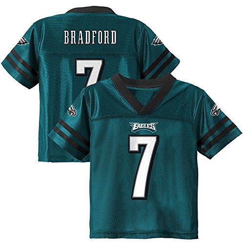 Outerstuff Sam Bradford NFL Philadelphia Eagles Teal Home Jersey Infant Toddler (12M-4T)