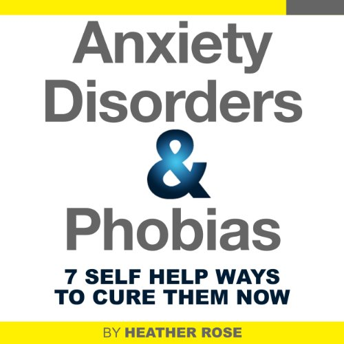 Anxiety and Phobia Workbook audiobook cover art