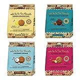 RHYTHM 108 Galletas de té veganas y sin gluten orgánicas comparten bolsa mixta (108) 4 x 135 g